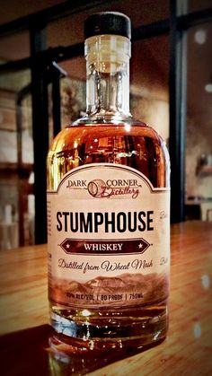 Stumphouse - Red Wheat Whiskey aged in our very own spent Lewis Redmond Bourbon Barrels. Silky smooth while capturing the bourbon essence in the back end.