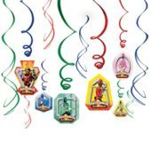 Power Rangers Swirl Decorations - Party City
