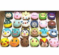cookiecrumbles • squirtleisthebest: Pokemon Cupcakes