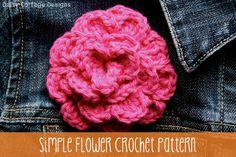Simple Flower Crochet Pattern
