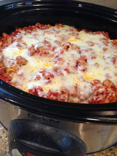 Slow Cooker Ziti | The Cookin Chicks