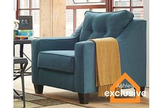 Teal Shayla Chair View 1