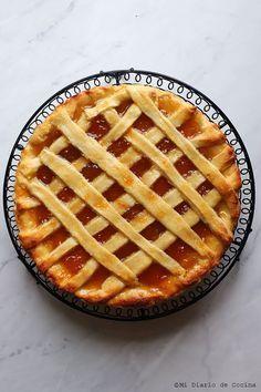 Kuchen de mermelada Apple Pie, Waffles, Sweets, Breakfast, Desserts, Food, Angeles, Spaces, Gourmet