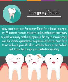 Our team at White Flint Family Dental will try to accommodate any last minute appointment requests so that the patient does not have to continue struggling with oral pain. If you have a toothache or a major dental emergency, call right away. Dental Surgery, Dental Implants, Dental Hygienist, Teeth Surgery, Dental Assistant, Oral Health, Dental Health, Health Care, Emergency Dental Care