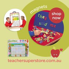 FEATURED: Magnetic Resources Explore our collection of Magnetic resources including letters, numbers, fraction tiles, rulers and much more! View the range online now.