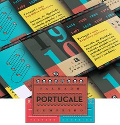 Portucale Manifesto by Royal Studio, via Behance