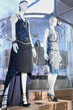 The Great Gatsby costumes on display at Prada Soho