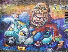 Graffiti, Painting, Art, Photo
