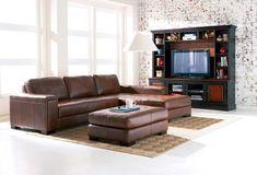 brown leather sofa - Buscar con Google