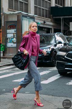 New York Street Style, Look Street Style, New York Style, Street Chic, Spring Fashion Street Style, Street Fashion, Fashion Week, Look Fashion, Autumn Fashion
