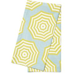 Serena & Lily Sol Napkins (Set of 2) ($16) ❤ liked on Polyvore featuring home, kitchen & dining, table linens, striped napkins and stripe napkins