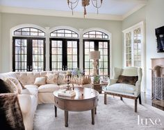 Charmed Life: Old-World Beauty Modernized For Comfort | LUXE Source