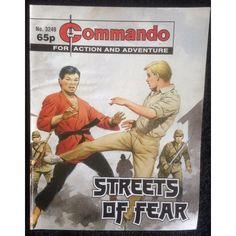 Commando Comic Picture Library #3249 War Action Adventure
