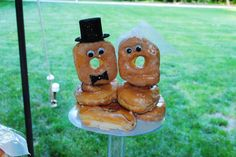 donut wedding cake