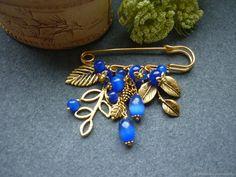 Diy Jewelry, Beaded Jewelry, Jewelry Making, Jewellery, Kilt Pin, Brooch Pin, Bling, Drop Earrings, Antiques