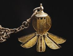 Pomander (ball with perfumes) said to have belonged to Mary Queen of Scots. 16th century