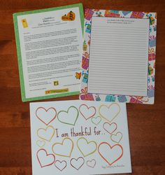 What to Write - Thanksgiving a sample letter from Compassion Family