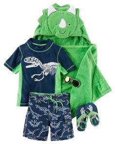 71d0b69e00 Carter's Dinosaur Rashguard What Baby Needs, Carters Baby Boys, Toddler Boys,  Kids Outfits