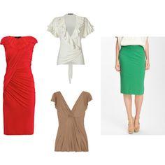 Hourglass figure over 40 dresses