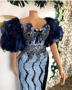 Nigerian Lace Styles Dress, Aso Ebi Lace Styles, African Lace Styles, Short African Dresses, Lace Dress Styles, Latest African Fashion Dresses, African Print Dresses, Women's Fashion Dresses, Best African Dress Designs