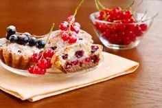 Muffins with currants