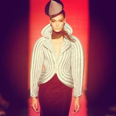 Jean Paul Gaultier for Mercedes Benz Fashion Week, NYC, Spring 2014