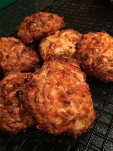 Four Ingredient Cheddar Cheese Puffs Recipe - Skint Dad Lunch Box Recipes, Dog Treat Recipes, Baby Food Recipes, Cooking Recipes, Cheddar Cheese Puffs Recipe, Cheese Scones, Cheese Muffins, Cheese Recipes, Savory Snacks