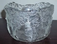 Kosta Boda Glass RHAPSODY Wedding Bowl  - GREAT WEDDING GIFT!