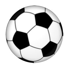 soccer ball clip art free large images pinteres rh pinterest com free clipart images of soccer balls clipart of soccer ball