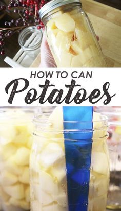 Canning Potatoes: Easy Cold Pack Method Learn how to can potatoes with a pressure canner. This easy cold pack (raw pack) method makes it simple to have home canned potatoes! Includes a step by step guide to pressure canning for beginners! Pressure Canning Recipes, Home Canning Recipes, Canning Tips, Cooking Recipes, Easy Canning, Pressure Cooking, Canning Potatoes, Canning Vegetables, Storing Potatoes