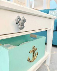 Toy Chest, Mickey Mouse, Decorative Boxes, Hardware, Storage, Table, Furniture, Home Decor, Disney