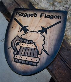 Skyrim Ragged Flagon Tavern Sign by ElderForest on Etsy