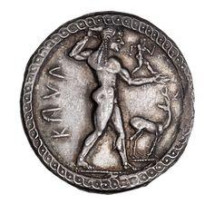 Silver stater, Caulonia. 1980.109.13