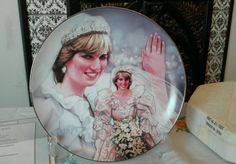 FRANKLIN MINT PRINCESS DIANA PLATE PORCELAIN FAIRYTALE PRINCESS in Collectables, Decorative Ornaments/ Plates, Collector Plates | eBay