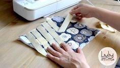 Matelasser facilement un tissu
