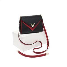 24b4e3eea23 100% Italiaanse lederen tas dame stiksels pakket V woord decoratie nep  designer tassen lederen tassen