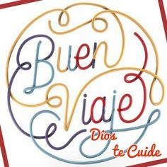 buen-viaje-dios-te-cuide Travel Chic, Inspirational Verses, Happy Words, Mom Quotes, Wtf Funny, Karma, Happy Birthday, Positivity, Feelings