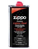 """$6.90-$47.99 12 oz can of premium Zippo lighter fluid. - Lighter Fluid 12 Oz. Can by Zippo, model 3365, UPC 041689301224, in Zippo Lighters Fuel/Flints, Weight = 0.74 lbs.Zippo calls it """"cool fuel,"""" and now your Zippo lighters will know just how cool it is with this 12-ounce bottle of lighter fluid. Zippo's cool fuel burns cleaner and lights faster than other fuels. More noticeably, it produces le ..."""
