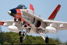 McDonnell Douglas F/A-18C Hornet. See the RC model version at www.rcflightline.com