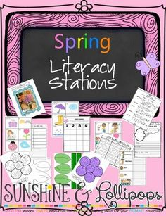 Spring is Here! Spring Literacy Stations Aligned with Common Core for First Grade is just what you need to start the year after Spring Break or anytime in Spring.  Set them up before you leave for Spring Break and be ready when you return!  What's Included: Original Readers Theater Poem Original Reading Response Sheets/Frames Pick a Book from the Book Bouquet frame Writing Prompts for Beginning Spring Ideas Opinion Writing Frames for Spring Ideas Spring Words ABC Order Word Wall Spring…