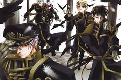 Teito is definitely much better in the manga. Description from pink-voodoo.blogspot.com. I searched for this on bing.com/images