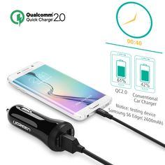 perfect Ugreen Car USB Charger Quick Charge 3.0 2.0 Mobile Phone Charger 2 Port USB Fast Car Charger for Samsung Xiaomi Tablet Charger Check more at http://acehomestore.com/product/ugreen-car-usb-charger-quick-charge-3-0-2-0-mobile-phone-charger-2-port-usb-fast-car-charger-for-samsung-xiaomi-tablet-charger/