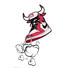 Vitamashiach Nike Chicago Bulls artwork