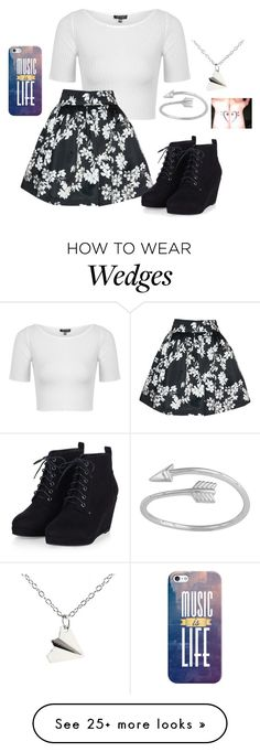 """""""What's eating Gilbert Grape"""" by ambroselove on Polyvore featuring moda, Topshop, Alice + Olivia, Casetify, women's clothing, women, female, woman, misses y juniors"""
