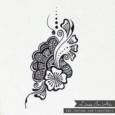 Henna tattoo designs with meaning sketches flowers line ideas mehndi gallery design quotes body art symbols Henna Designs On Paper, Henna Tattoo Designs, Tattoo Designs And Meanings, Tattoos With Meaning, Tattoo Ideas, Hena Designs, Mehandi Designs, Doodle Designs, Rangoli Designs