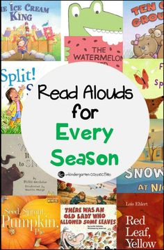 Awesome Picture Books for every season!