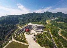 TangshanGeoparkMuseum_HASSELL_JohnsonLin_01 « Landscape Architecture Works | Landezine