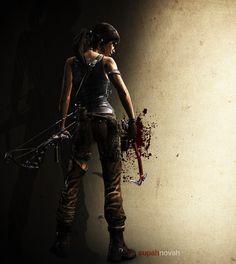 Lara Croft by vanadise.deviantart.com