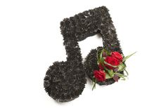 Music Note Sympathy and Funeral Floral Design using OASIS® FOAM FRAMES® Shapes. www.oasisfloral.com Funeral Floral Arrangements, Flower Arrangements, Oasis Foam, Funeral Flowers, Shop Ideas, Fresh Flowers, Cemetery, Floral Design, Frames