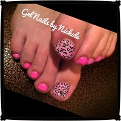Like this for toes...wouldn't like it for nails though....not crazy about this print....